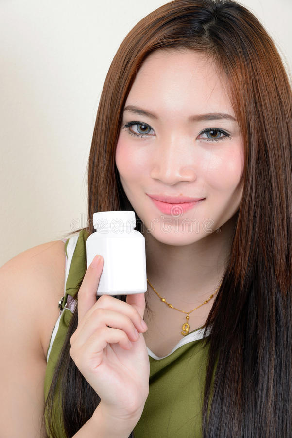 Download Portrait Of Beautiful Healthy Asian Woman Stock Image - Image: 29913345