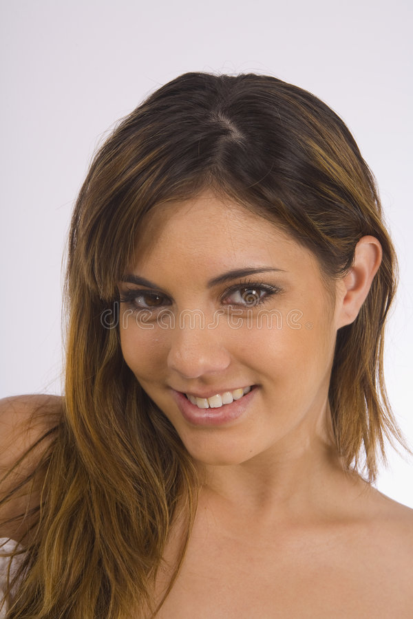 Download Portrait Of A Beautiful Teenage Girl Stock Photo - Image of cute, smile: 8009224