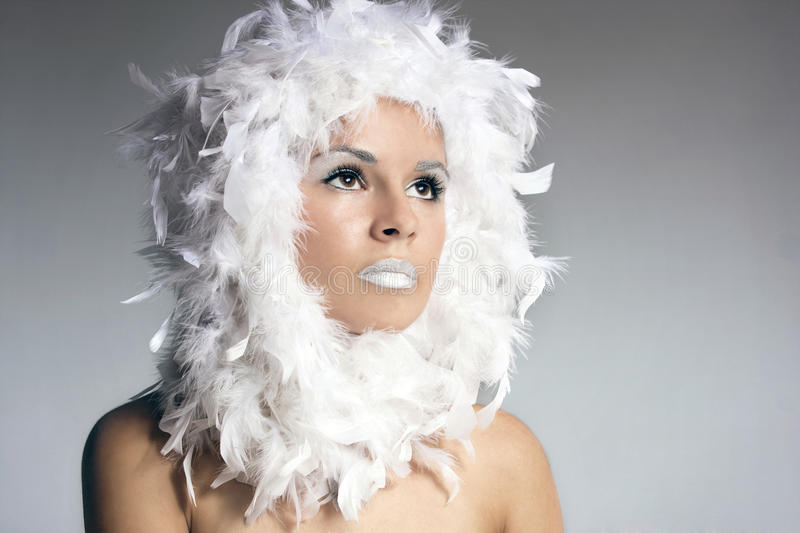 Download Portrait Of A Beautiful Winter Queen Stock Photo - Image: 16910534