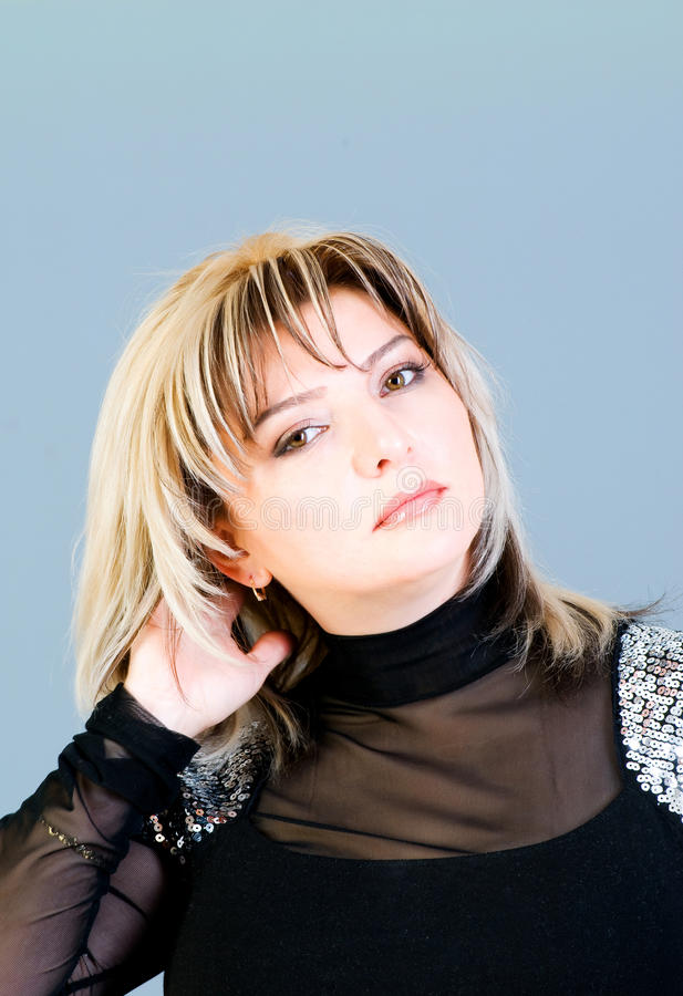 Download Portrait Of The Beautiful Woman Stock Photo - Image: 12079712