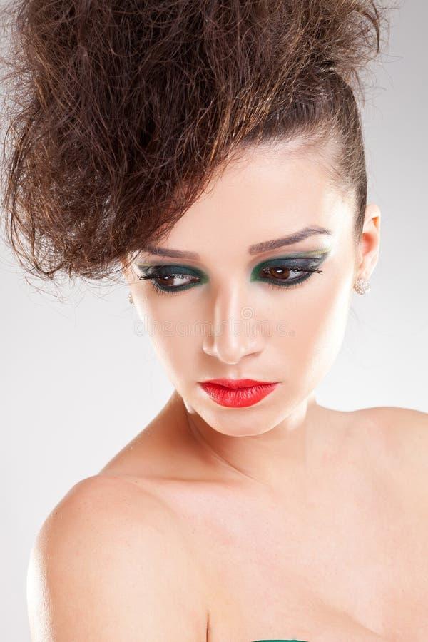 Download Portrait Of Beautiful Woman Stock Photo - Image: 23554040