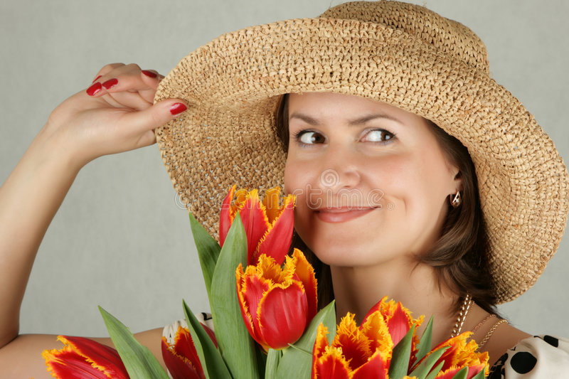 Download Portrait Of A Beautiful Woman Stock Photo - Image: 4645510