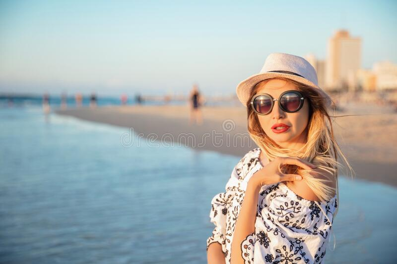 Portrait of a beautiful woman royalty free stock images