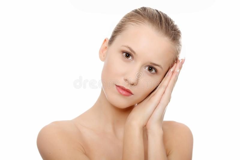 Download Portrait Of Beautiful Woman Before Spa Treatment Stock Images - Image: 18531274