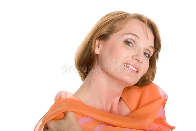 Portrait of a beautiful women. stock photo