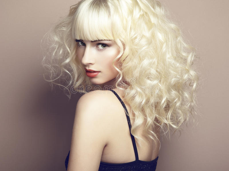 Download Portrait Of Beautiful Young Blonde Girl Stock Image - Image: 28048189