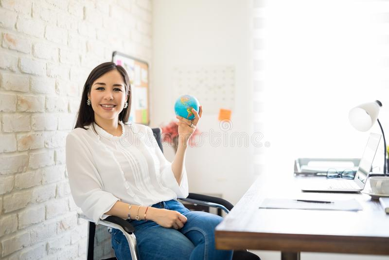 Global sales manager stock photos