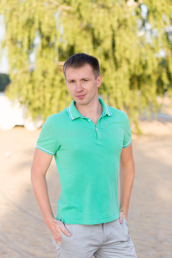 Download Portrait Of Beautiful Young Man Stock Photo - Image: 83719296