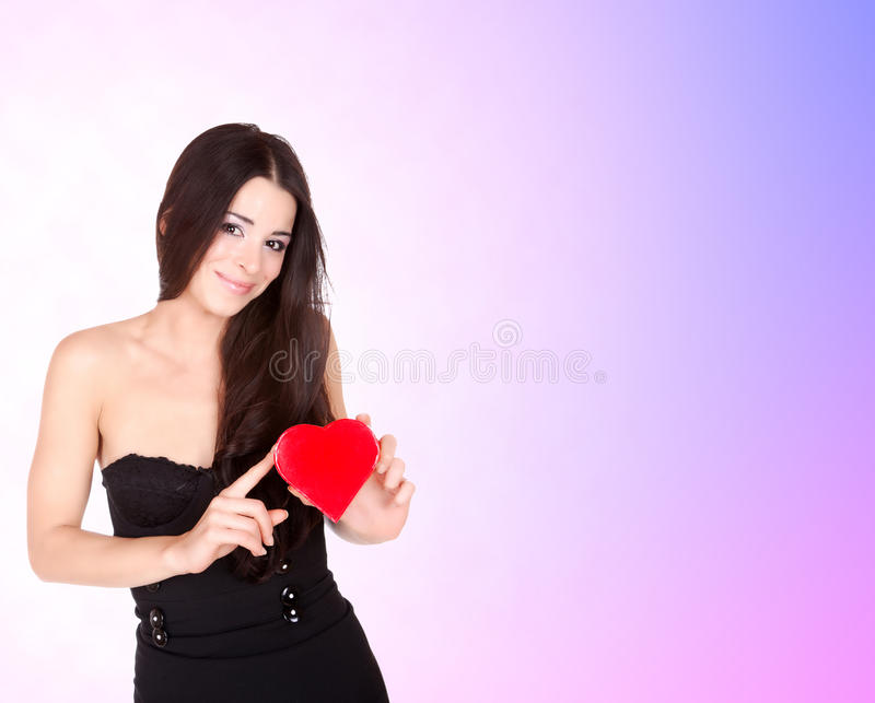 Download Portrait Of A Beautiful Young Smiling Woman Stock Photo - Image: 13011980
