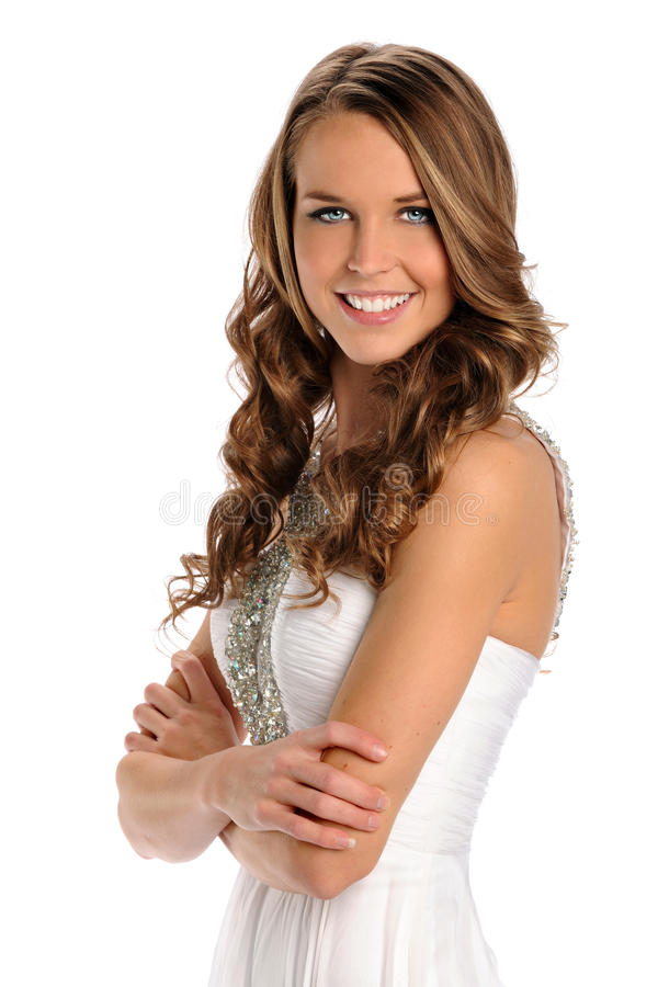 Download Portrait Of Beautiful Young Woman Stock Image - Image: 19170213