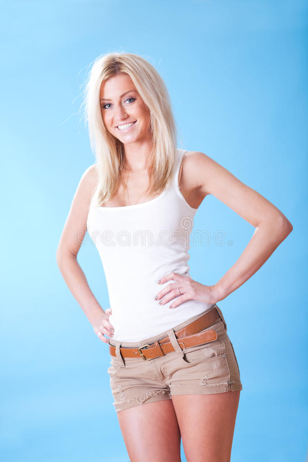 Download Portrait Of Beautiful Young Woman Stock Photos - Image: 23545843