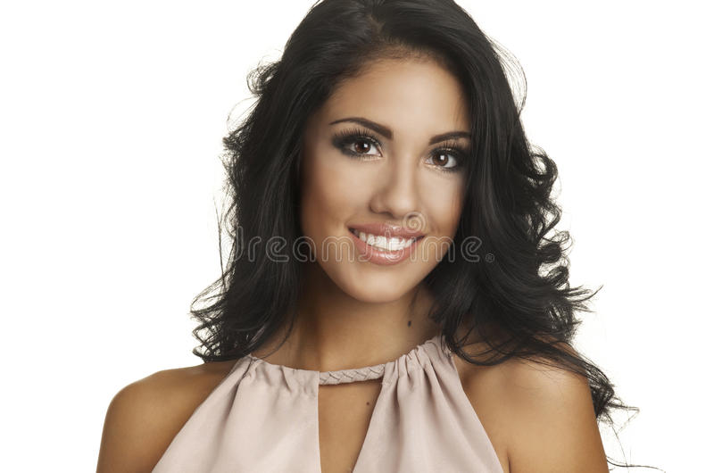 Download Portrait Of A Beautiful Young Woman Stock Photo - Image: 25336968