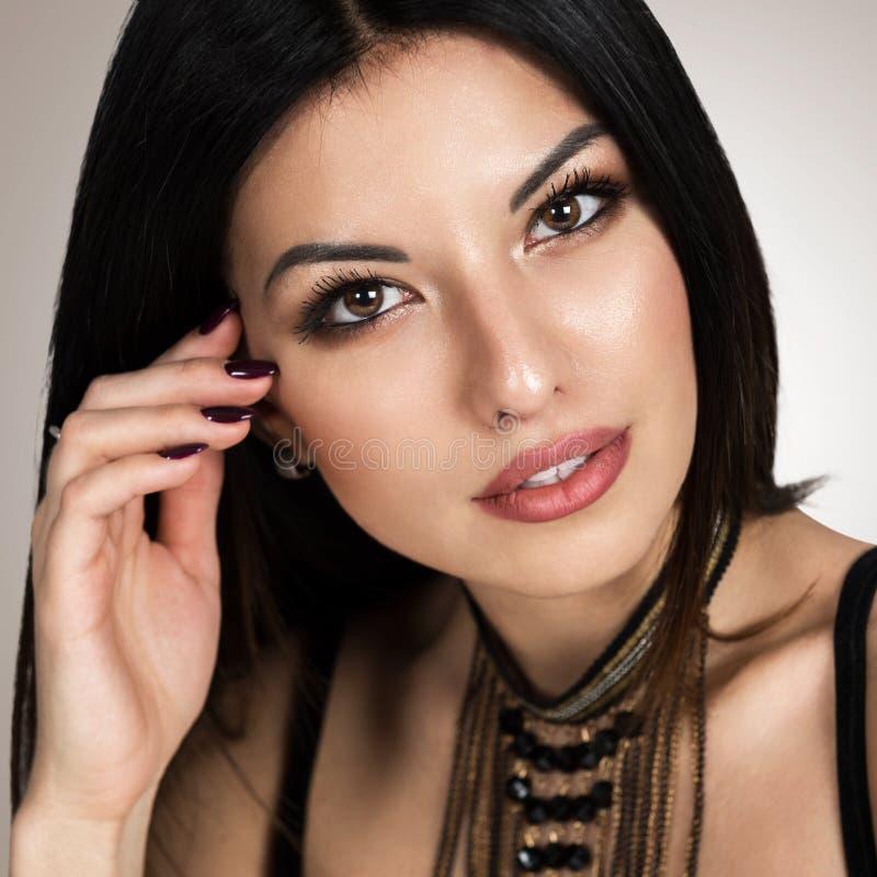 Very beautiful woman in spanish