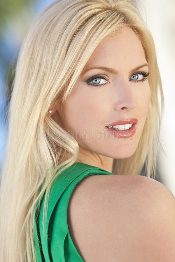 Download Portrait Of Beautiful Young Woman In Her Thirties Stock Image - Image: 18347129