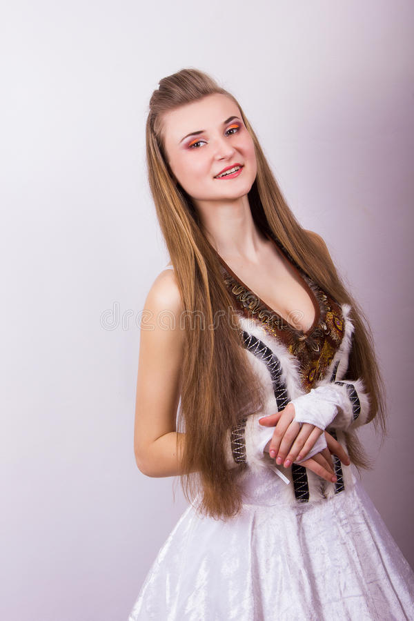 Download Portrait Of A Beautiful Young Woman Stock Photo - Image: 39426106