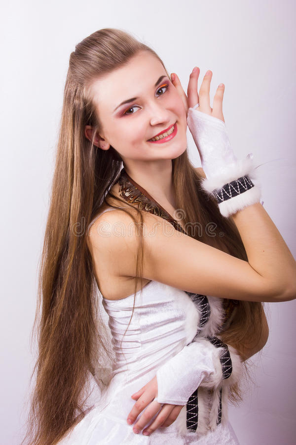 Download Portrait Of A Beautiful Young Woman Stock Photo - Image: 39426124