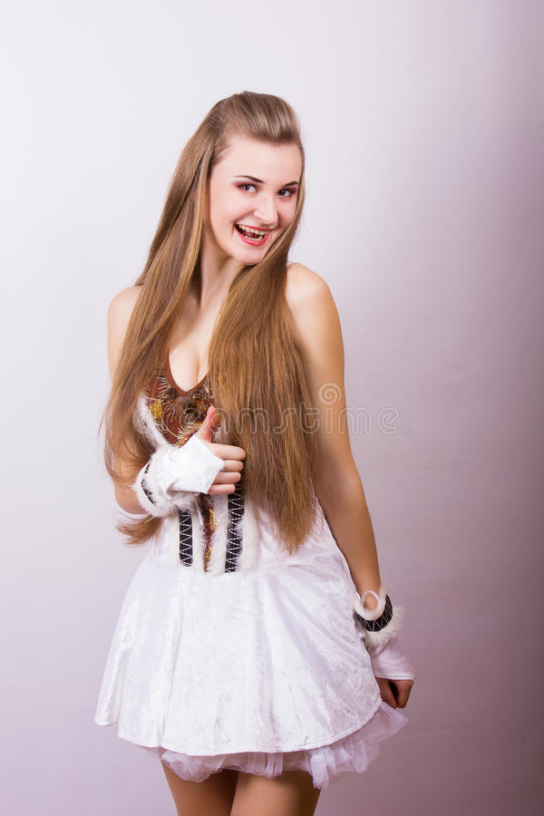 Download Portrait Of A Beautiful Young Woman Stock Image - Image: 39426129