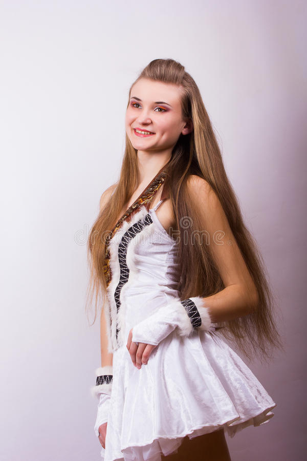 Download Portrait Of A Beautiful Young Woman Stock Image - Image: 39426141