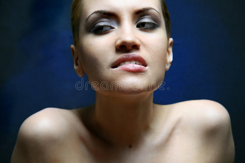 Download Portrait of beauty stock photo. Image of desire, complexion - 1727550