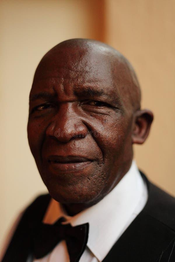 Portrait Of Black Barman Editorial Photo