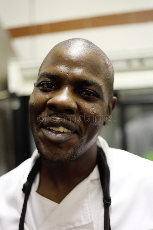 Download Portrait of Black Chef editorial stock photo. Image of people - 30457518