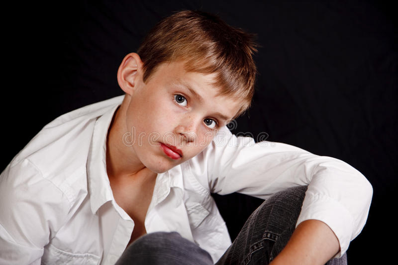 Download Portrait of a boy stock image. Image of childhood, person - 13383557