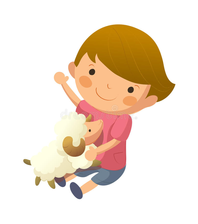 Download Portrait of boy stock vector. Image of child, cute, domestic - 26902268