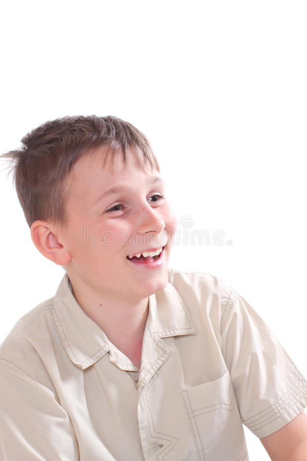 Download Portrait of a boy stock image. Image of pupil, happy - 28336523