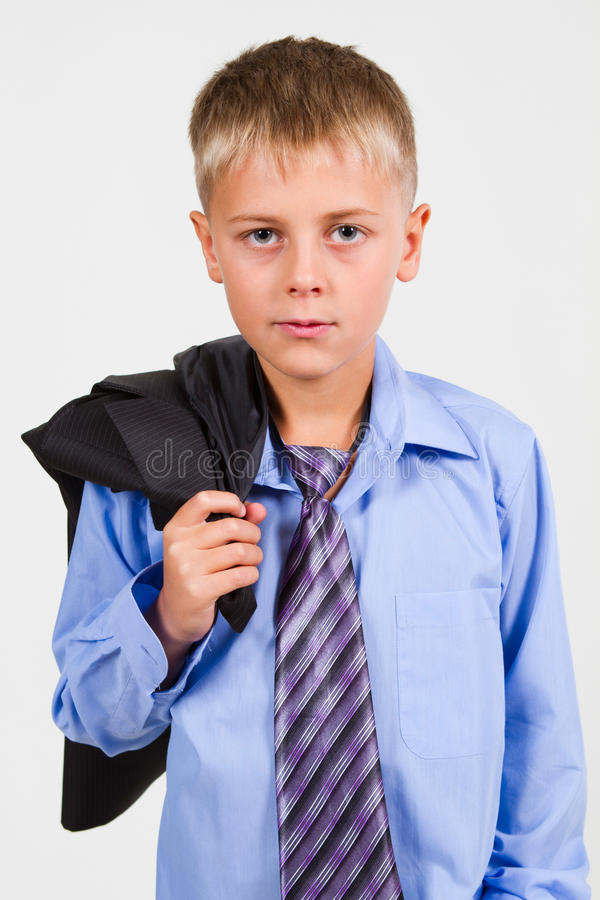 Portrait of a Boy. Close-up