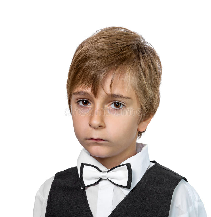 Download Portrait of a boy stock photo. Image of childhood, caucasian - 33640756