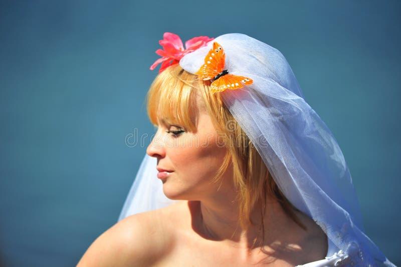 Download Portrait Of The Bride Stock Photo - Image: 14392130