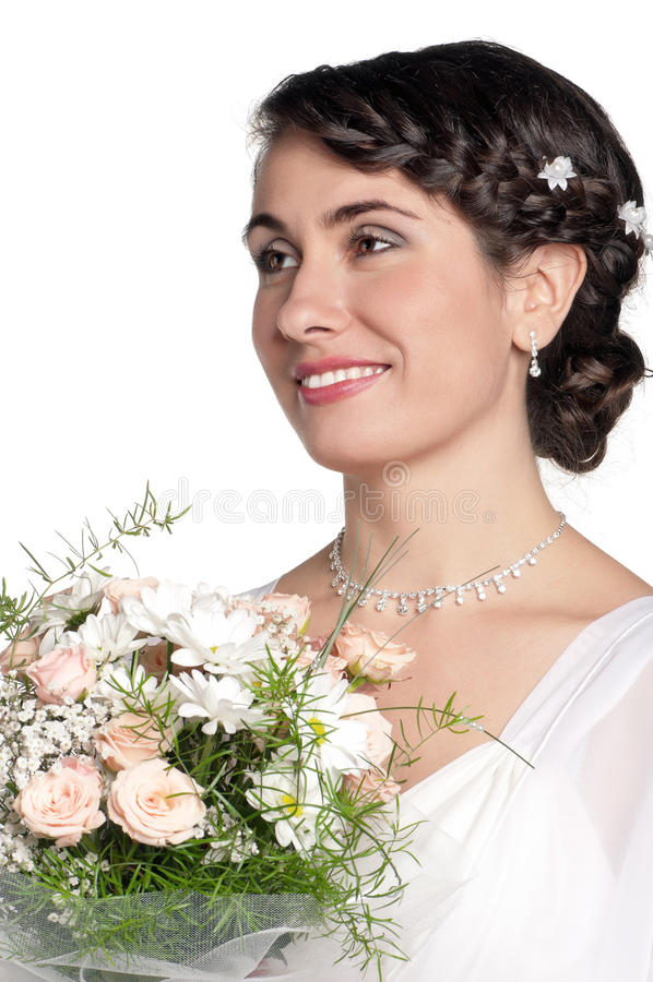 Portrait Of Bride Royalty Free Stock Photography
