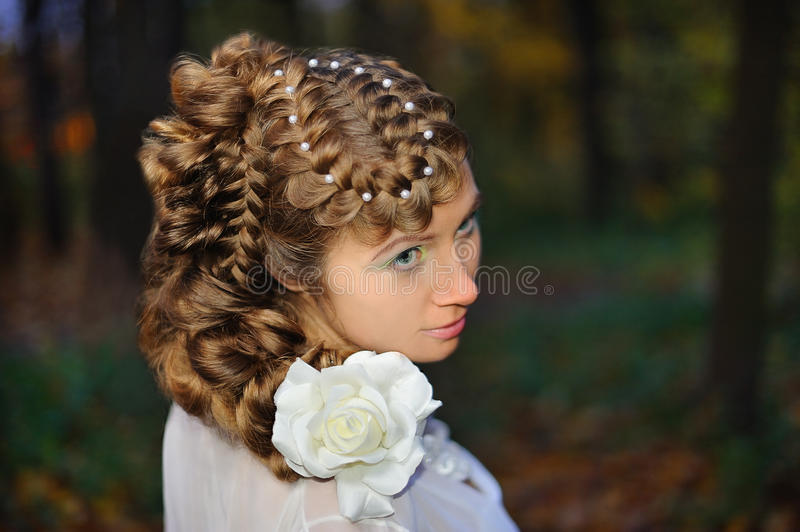 Portrait Of A Bride Royalty Free Stock Photography