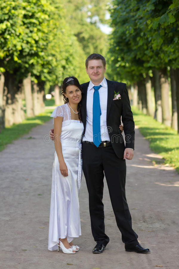 Download Portrait Of Bride And Groom In The Hands Of The Do Stock Photo - Image: 28537162
