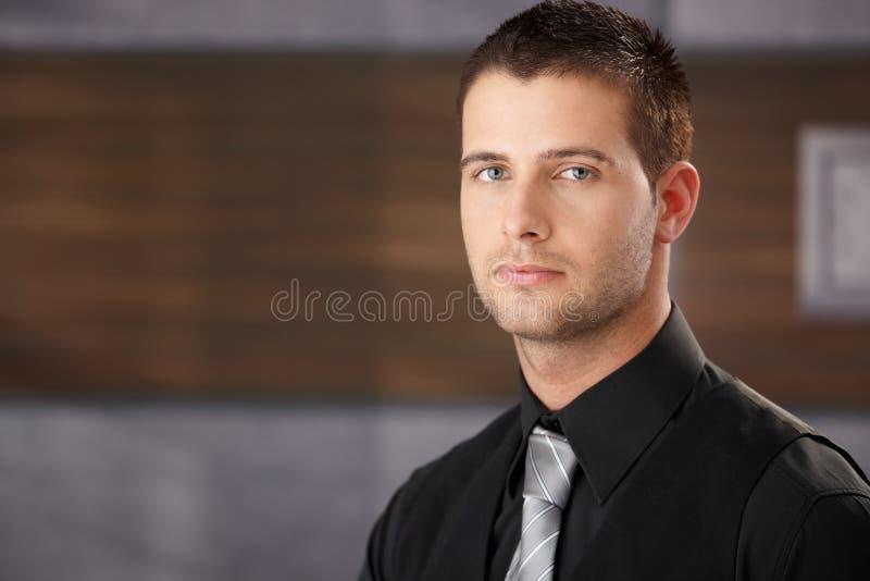 Download Portrait Of Bristly Businessman Stock Image - Image: 23609527