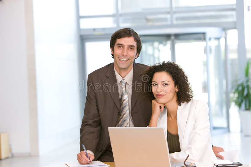 Download Portrait Of Business Colleagues Stock Image - Image: 8693491