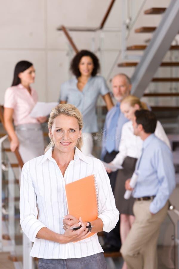 Portrait of business executives stock photos