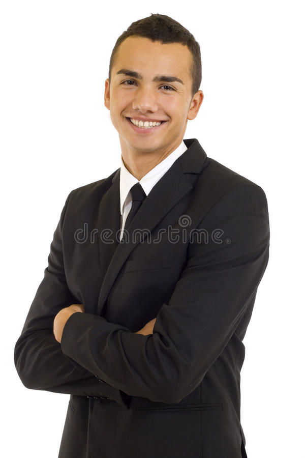 Portrait of a business man royalty free stock photo