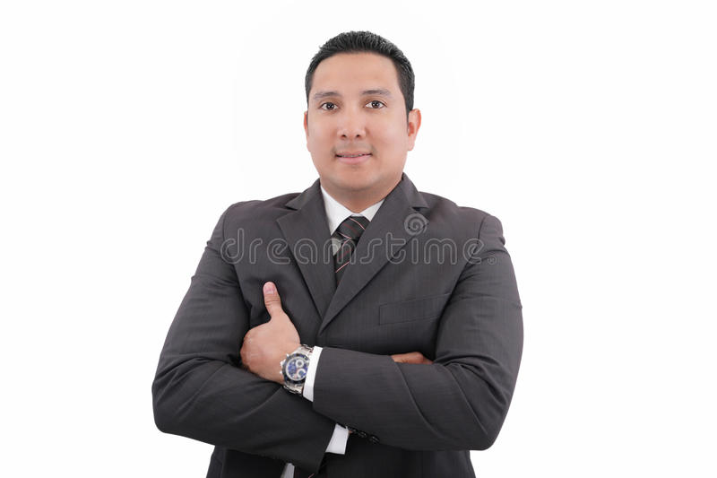 Portrait Of A Business Man Royalty Free Stock Images