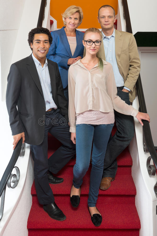 Portrait of business people stock photos