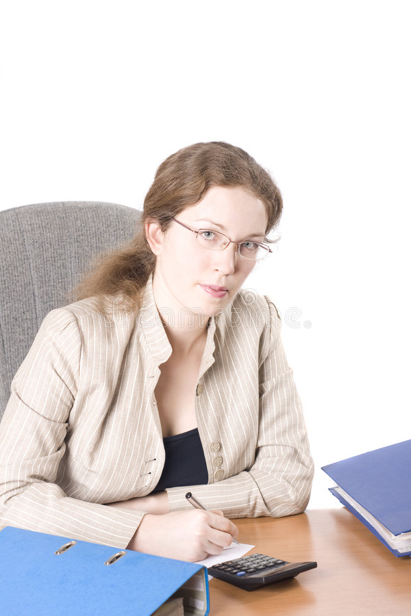 Download Portrait Of The Business Woman Stock Photo - Image: 4425192