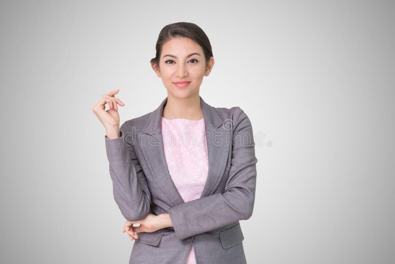 Portrait business woman stock images