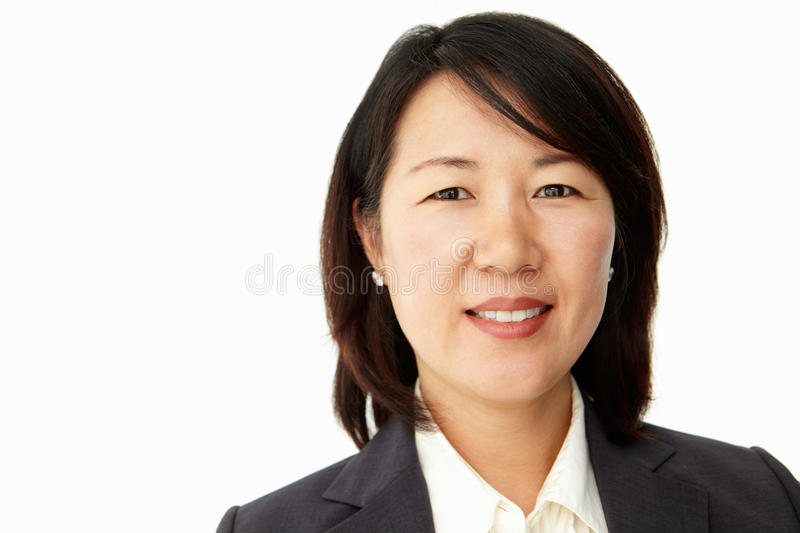 Download Portrait Of Business Woman In Suit Stock Photo - Image: 19906310