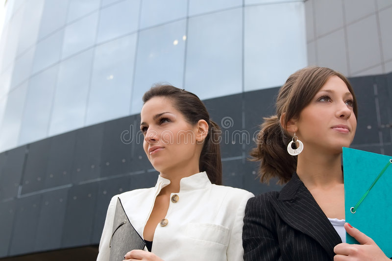 Portrait Of Business Women royalty free stock photo