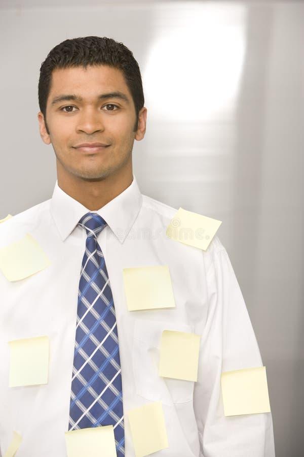 Portrait of businessman .