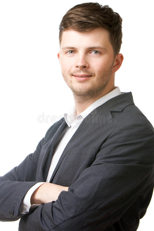 Portrait Of A Businessman Royalty Free Stock Photos