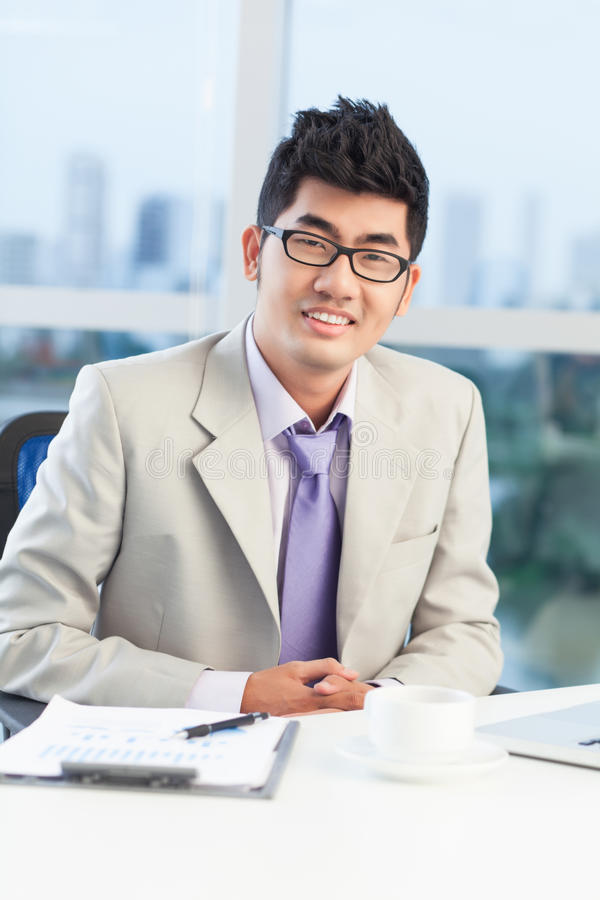 Download Portrait of a businessman stock photo. Image of confidence - 26601892
