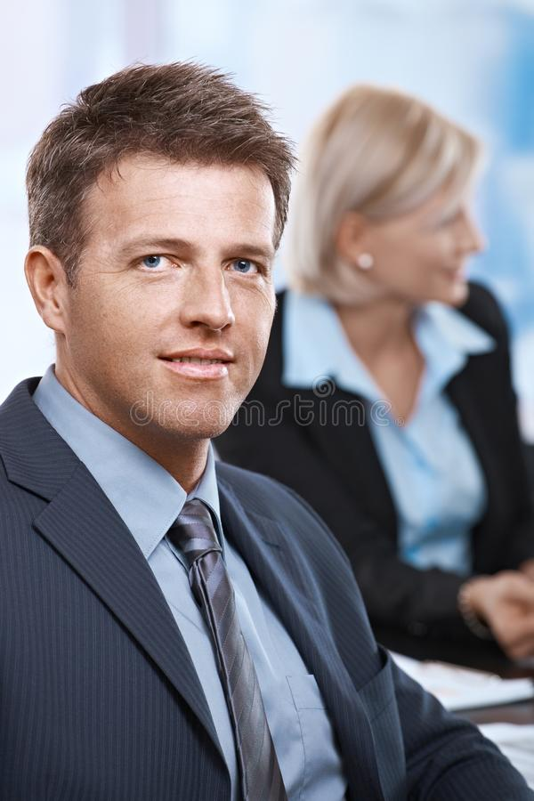 Download Portrait Of Businessman At Office Stock Photos - Image: 22784823