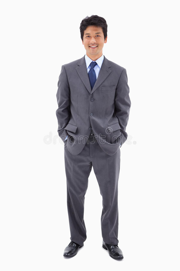 Portrait of a businessman standing up