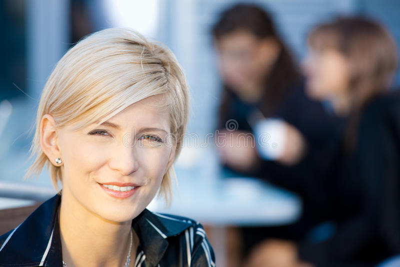 Portrait of businesswoman royalty free stock photos
